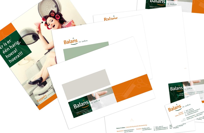 ©Plzant-Balans in Zaken-Kappersadministratie
