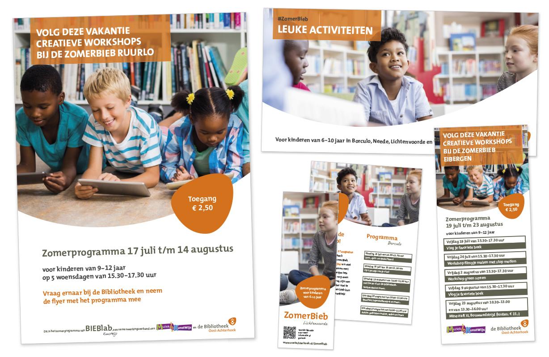 ZomerBieb 2019 Bibliotheek Oost-Achterhoek