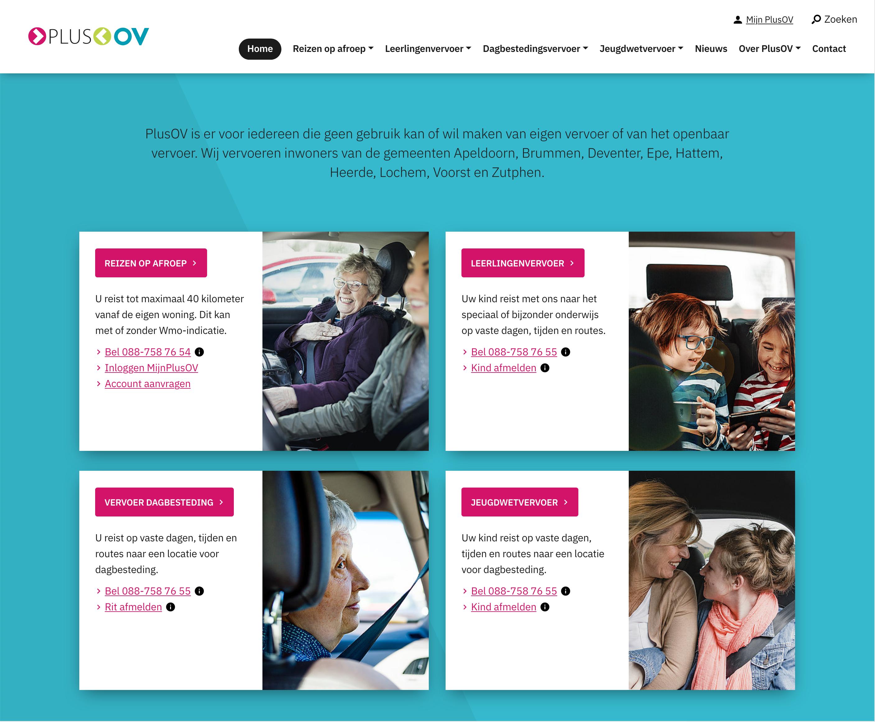 Website PlusOV